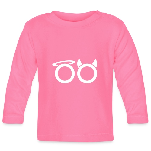 hvit svg - Baby Long Sleeve T-Shirt