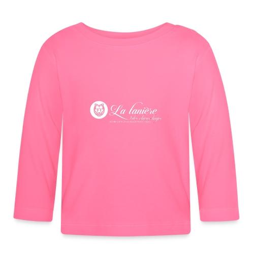 La Tanière des Chiens-Loups (logo plus grand) - T-shirt manches longues Bébé