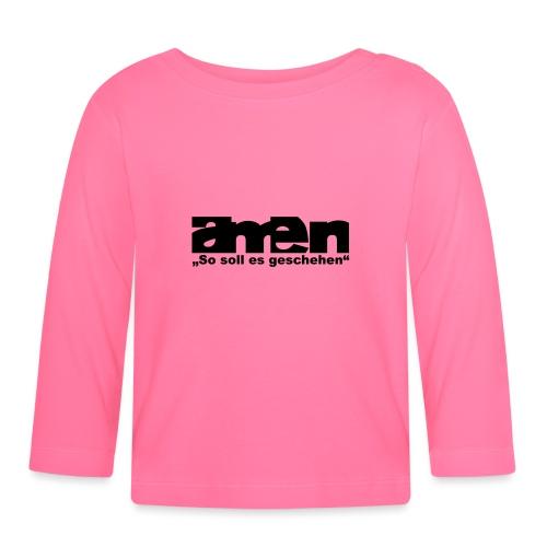 amen - Baby Langarmshirt