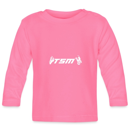 TSM OFFICIAL LOGO WHITE png - Långärmad T-shirt baby