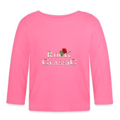 Rock Classic Rose - Baby Langarmshirt