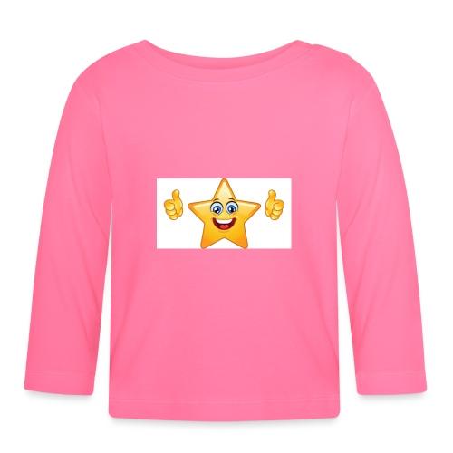 star-smiley-234 - Maglietta a manica lunga per bambini