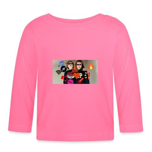 Coolrockskingen och Jojo - Långärmad T-shirt baby