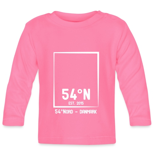 54°Nord square t-shirt edt.5 - Langærmet babyshirt