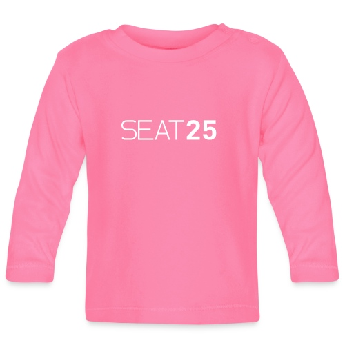 Seat25 Logo Light - Baby Long Sleeve T-Shirt