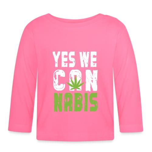 Weed T-shirt - Baby Long Sleeve T-Shirt