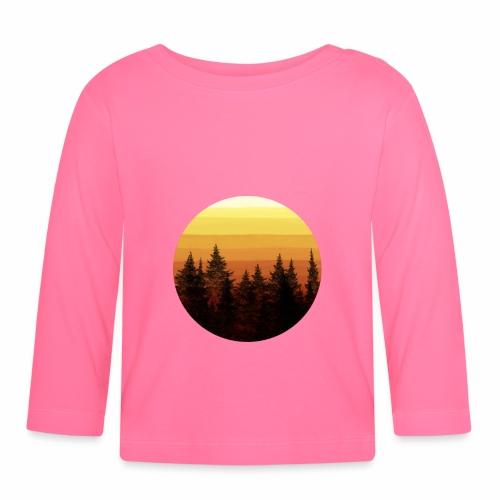 sunset - T-shirt manches longues Bébé