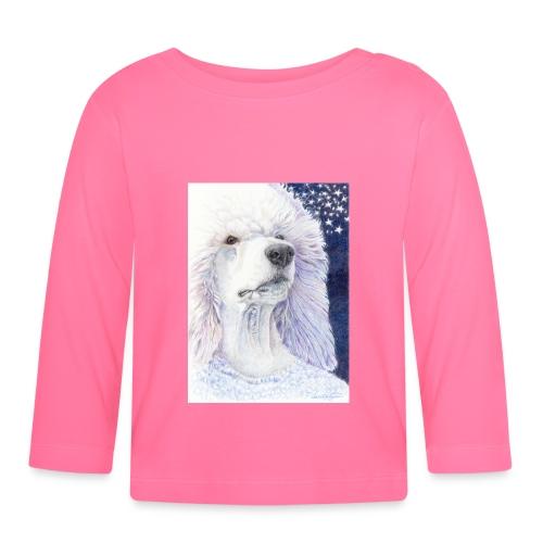 Poodle DreamDog - Langærmet babyshirt