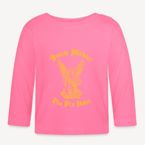 sancte yellow - Baby Long Sleeve T-Shirt