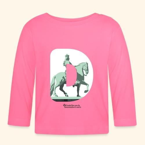 Düsseldorf T-Shirt Jan Wellem D weiß - Baby Langarmshirt