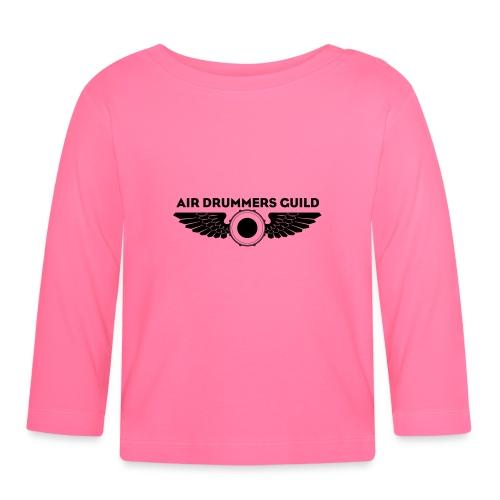 ADG Drum'n'Wings Emblem - Baby Long Sleeve T-Shirt