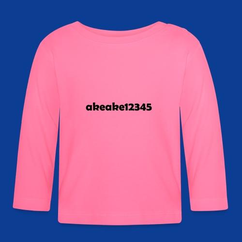 My new shirt - Baby Long Sleeve T-Shirt