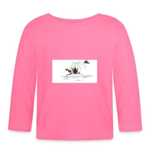 dino - Camiseta manga larga bebé