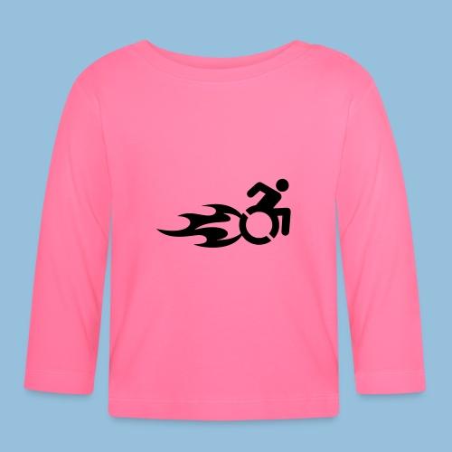 Roller met vlammen 013 - T-shirt
