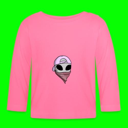 gangsta alien logo - Maglietta a manica lunga per bambini