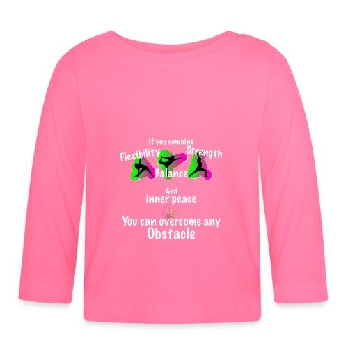 Overcome Obstacle MaitriYoga - T-shirt manches longues Bébé