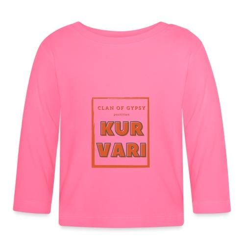Clan of Gypsy - Position - Kurvari - Baby Long Sleeve T-Shirt