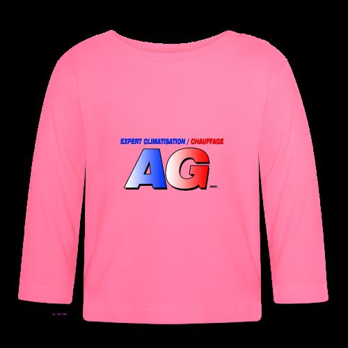AG climatisation LOGO - T-shirt manches longues Bébé