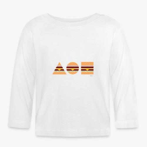 Graphic Burgers - Maglietta a manica lunga per bambini