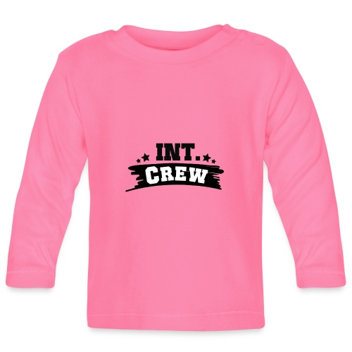 International Crew T-Shirt Design by Lattapon - Langærmet babyshirt