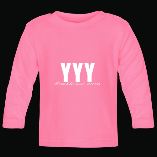 'Snapback Edition' YYY Apparel Design - Baby Long Sleeve T-Shirt
