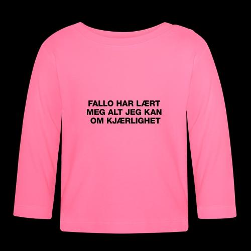 F-H-L-M-A-J-K-O-K-HOODIE - Langarmet baby-T-skjorte