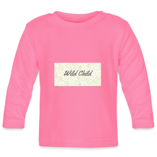 Wild Child 1 - Baby Long Sleeve T-Shirt