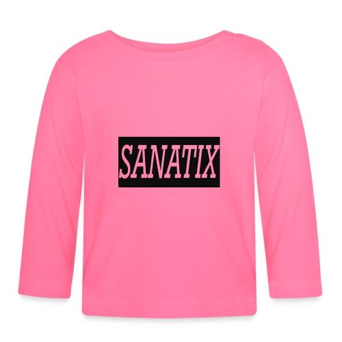 SanatixShirtLogo - Baby Long Sleeve T-Shirt