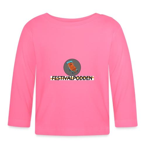 Festivalpodden - Loggorna - Långärmad T-shirt baby