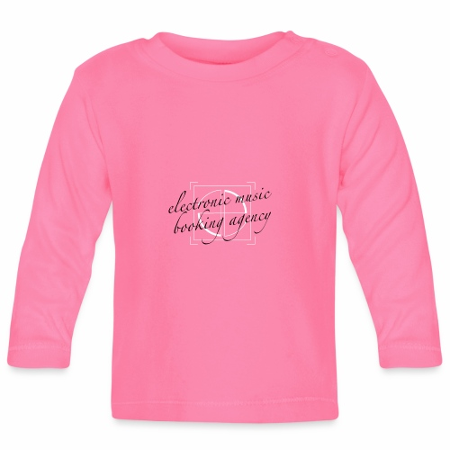 JE ... DEMAIN electronic music booking agency - T-shirt manches longues Bébé