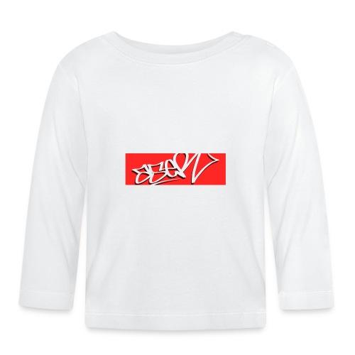 ASER Simple-Style RedBG - Baby Langarmshirt