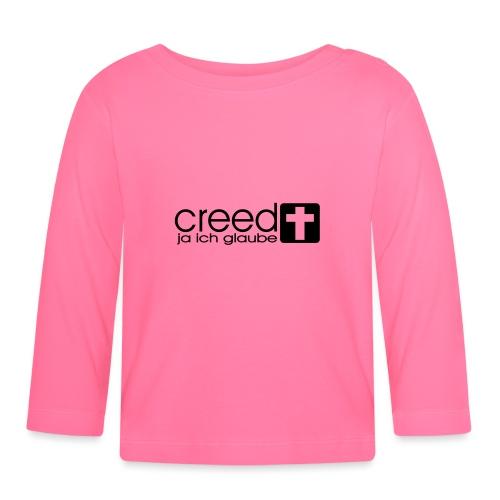 Creed Glaube - Baby Langarmshirt