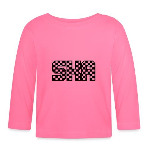 ska_in_blokjes - Baby Long Sleeve T-Shirt