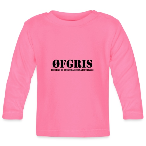 ØFGRIS - Bestsellere - Langærmet babyshirt