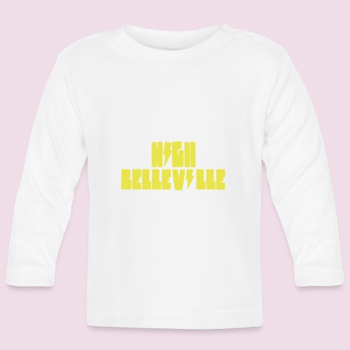 HIGH BELLEVILLE - T-shirt manches longues Bébé