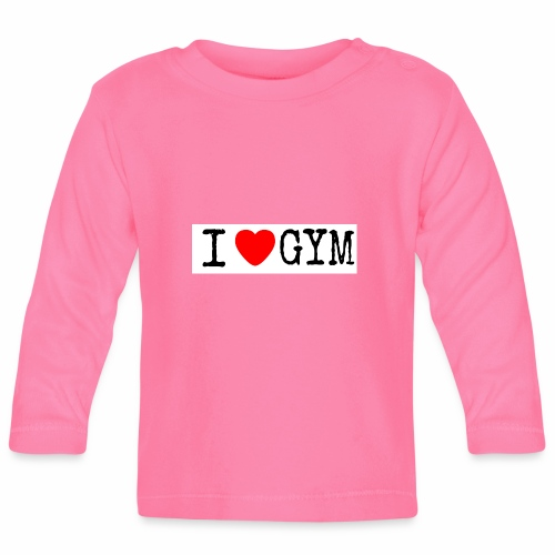 LOVE GYM - Maglietta a manica lunga per bambini
