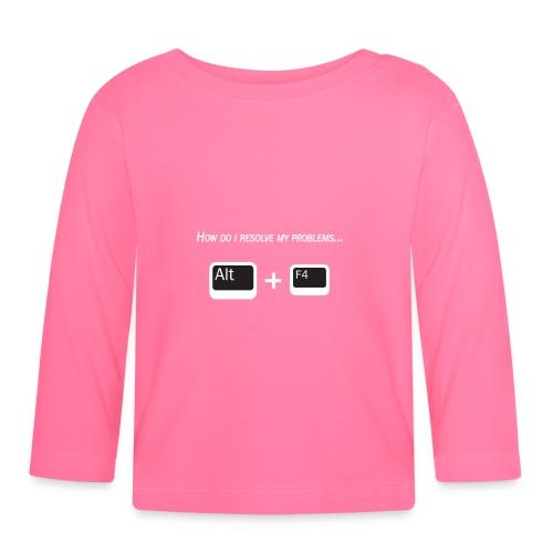 Nerd story - Maglietta a manica lunga per bambini