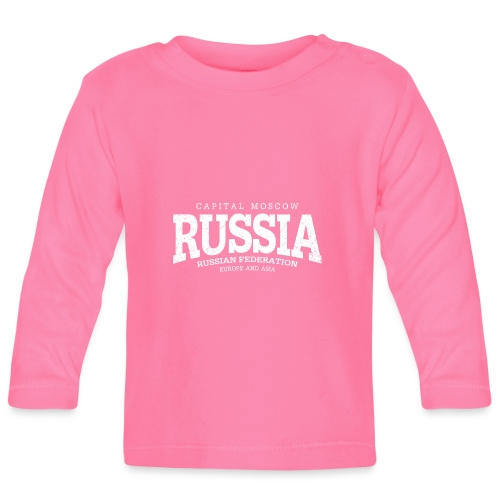 Russia (white oldstyle) - Baby Langarmshirt