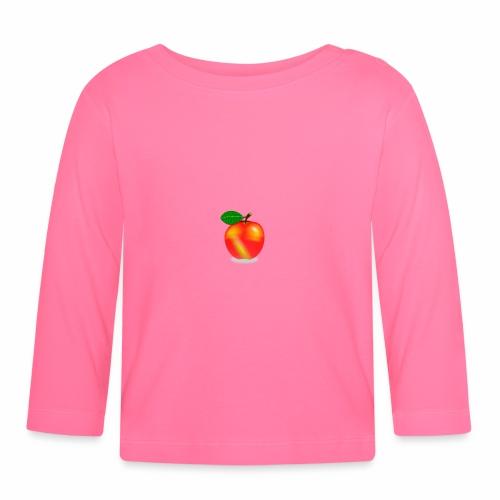 Apfel - Baby Langarmshirt