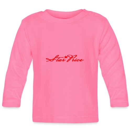 star price (red) - Baby Long Sleeve T-Shirt