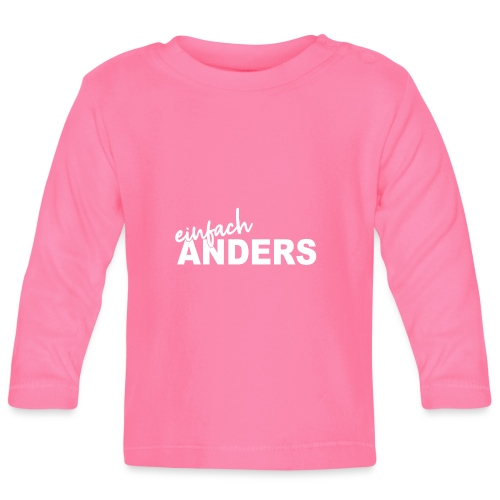 einfach ANDERS - Baby Langarmshirt