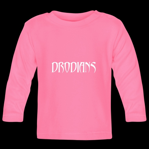 DRODIANS WHITE - Baby Long Sleeve T-Shirt