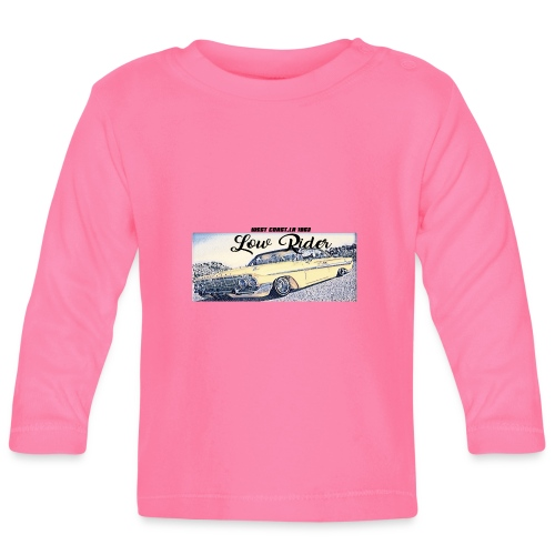 Lowrider impala 1963 vato loco west coast tshirt - Baby Long Sleeve T-Shirt