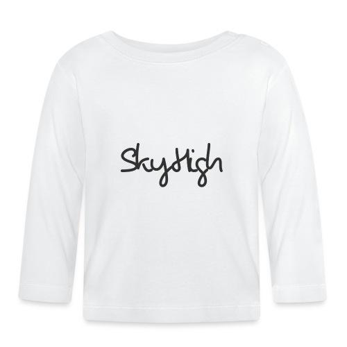 SkyHigh - Men's Premium T-Shirt - Black Lettering - Baby Long Sleeve T-Shirt