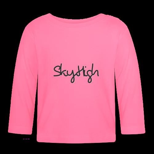 SkyHigh - Women's Premium T-Shirt - Black Lettering - Baby Long Sleeve T-Shirt