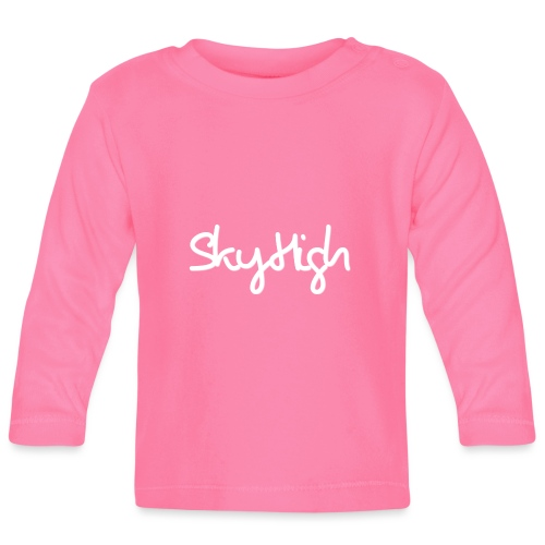 SkyHigh - Men's Premium Hoodie - White Lettering - Baby Long Sleeve T-Shirt