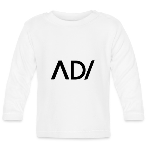 Anpassa AD / logo - Långärmad T-shirt baby