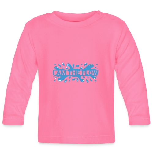 I am the flow - Baby Long Sleeve T-Shirt