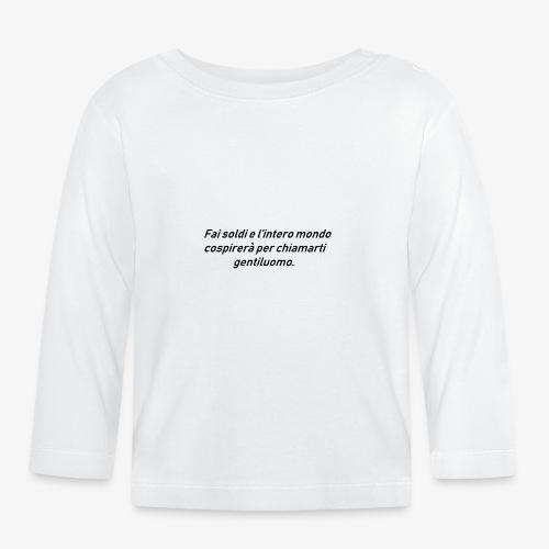 RICCHEZZA - Maglietta a manica lunga per bambini