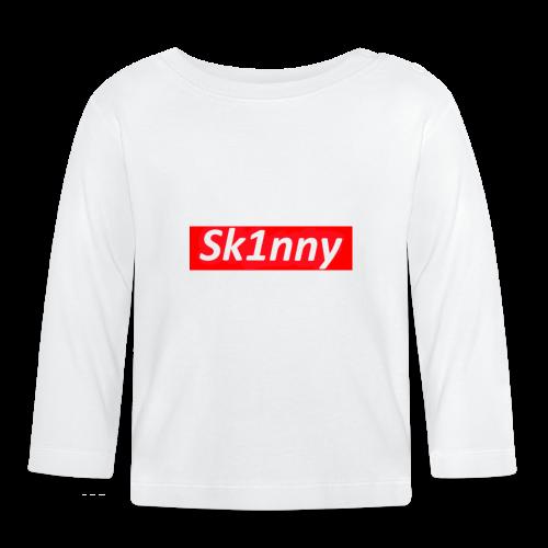 Sk1nny Logo - Baby Long Sleeve T-Shirt